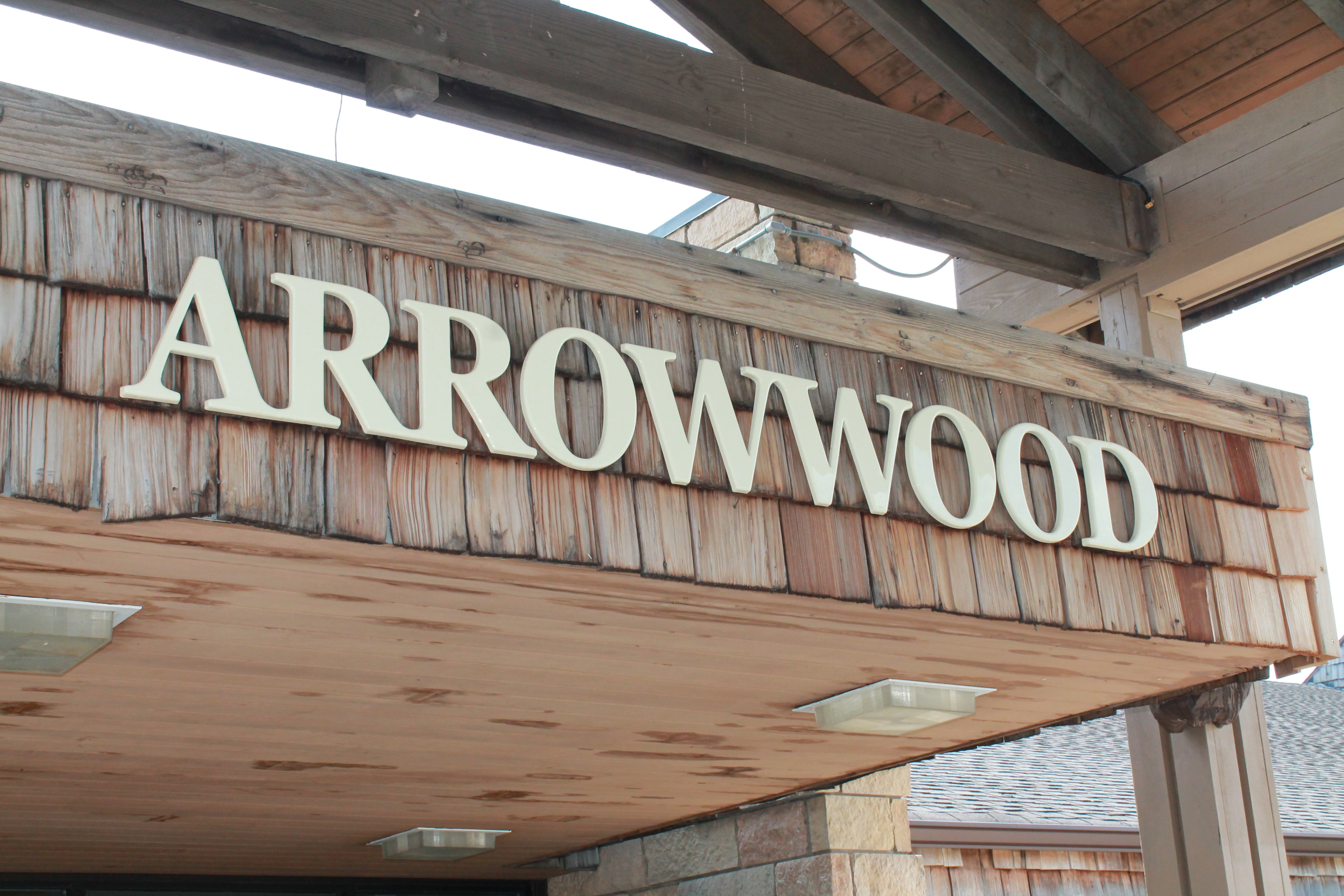 Picture of the entrance to Arrowwood Resort