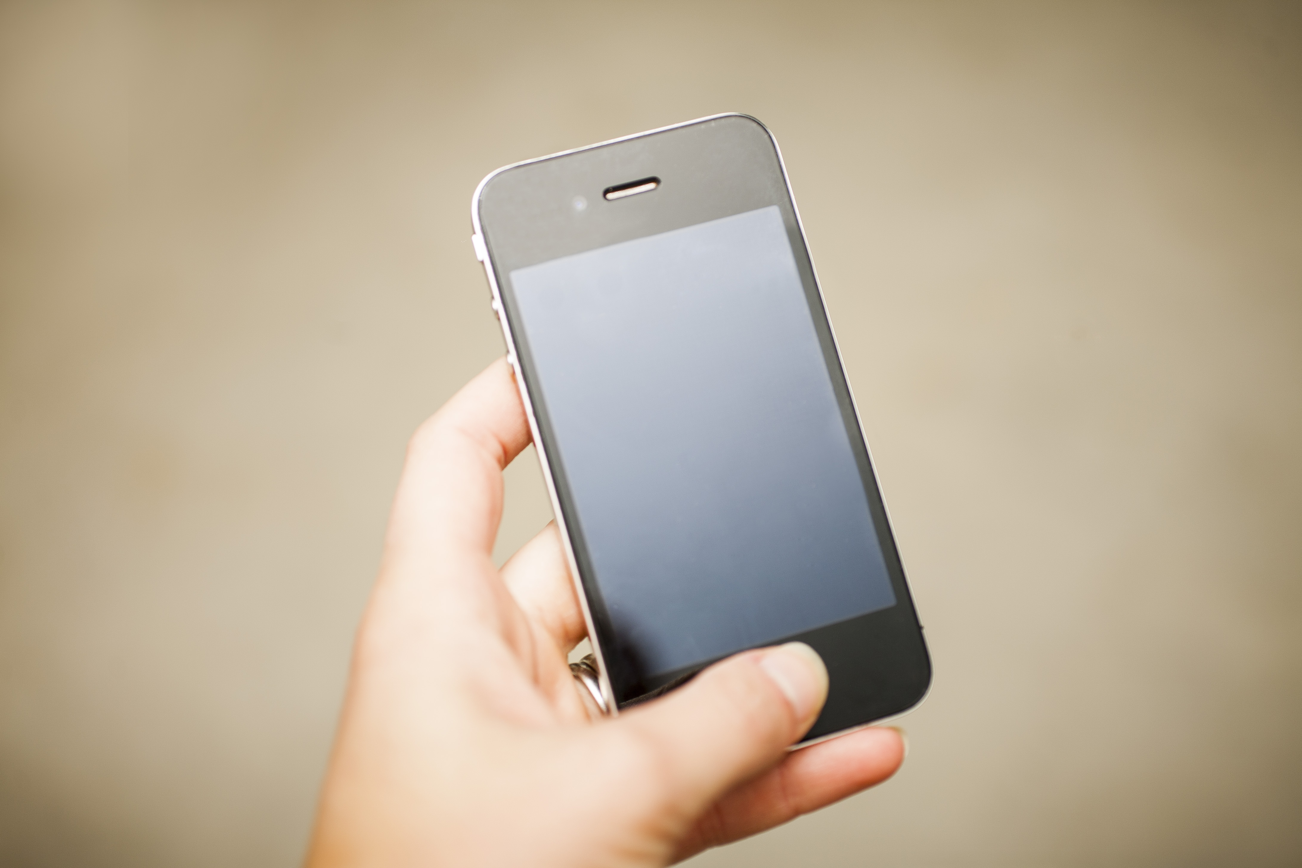 Picture of a cell phone to demonstrate the digital customer experience.